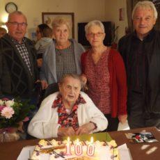 Une centenaire à Buléon